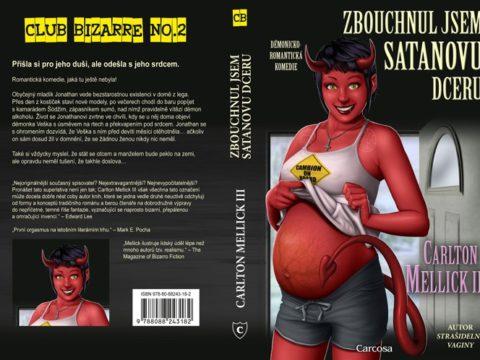 Satanova dcera cela obalka
